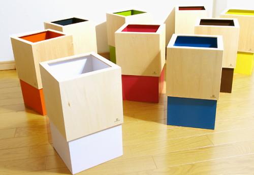デザインごみ箱